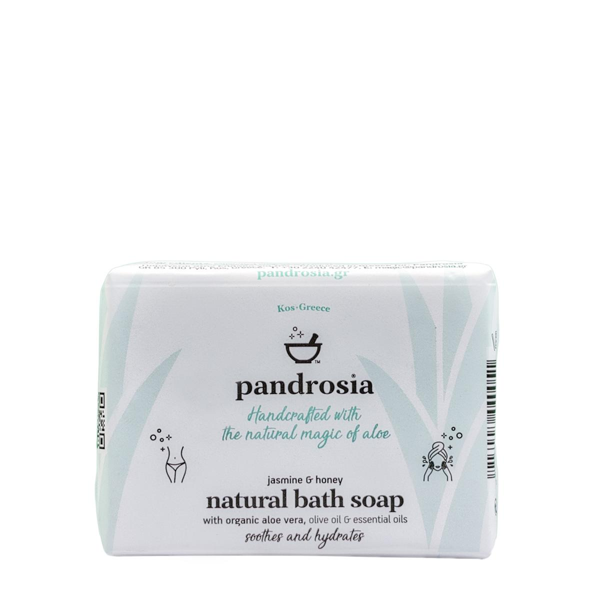 Natural soap with with organic aloe vera